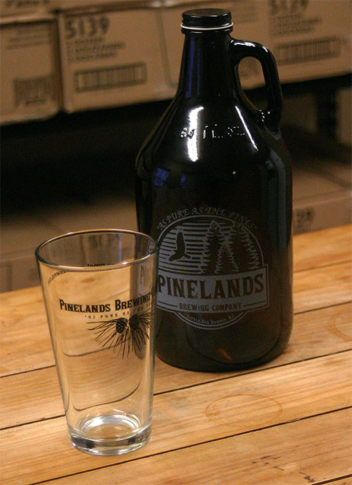 Pinelands Brewing Growler